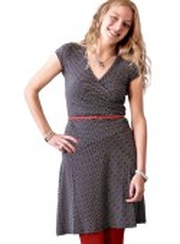 Str. XL Dot & Doodle's kjole Minidot