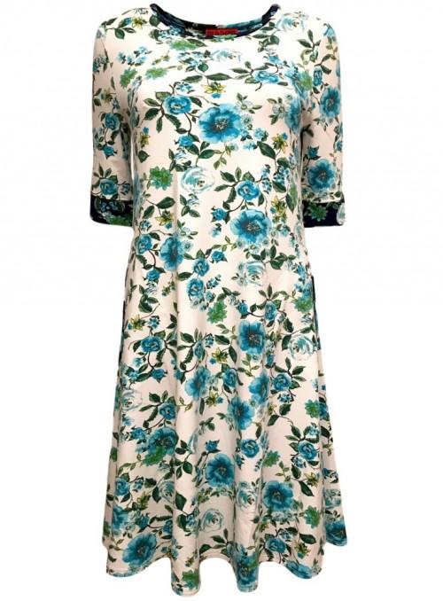 Dot & Doodle's kjole Bazinga Prima Turkis
