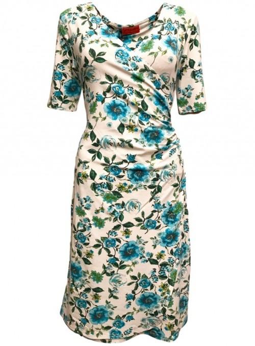 Dot & Doodle's kjole Christa Prima turkis
