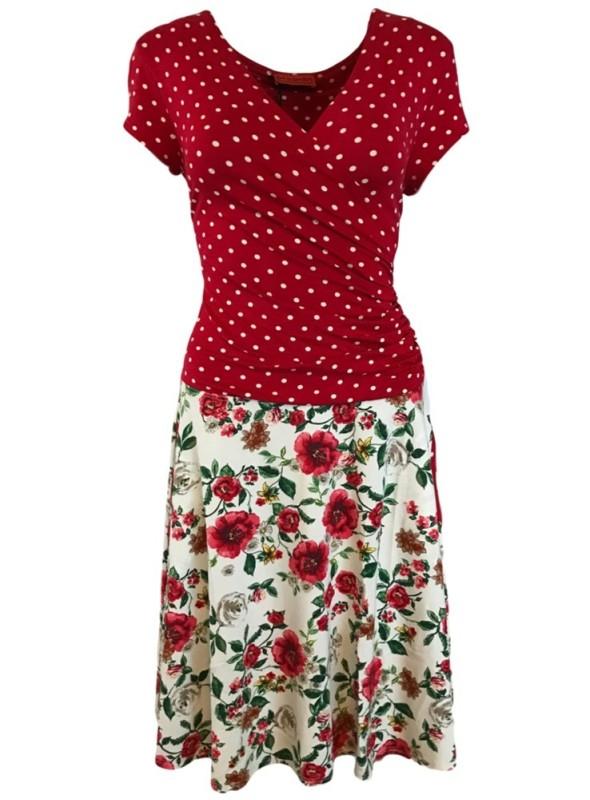 Str. S Dot & Doodle's kjole BellaP Hotprima