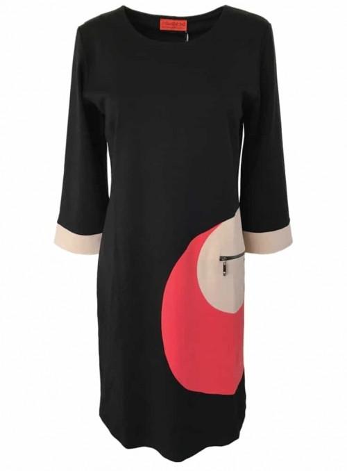 Dot & Doodle's kjole Vigga Punto Black