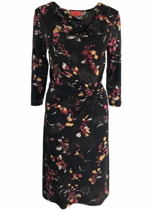 Dot & Doodle's kjole Lady Cherry Black