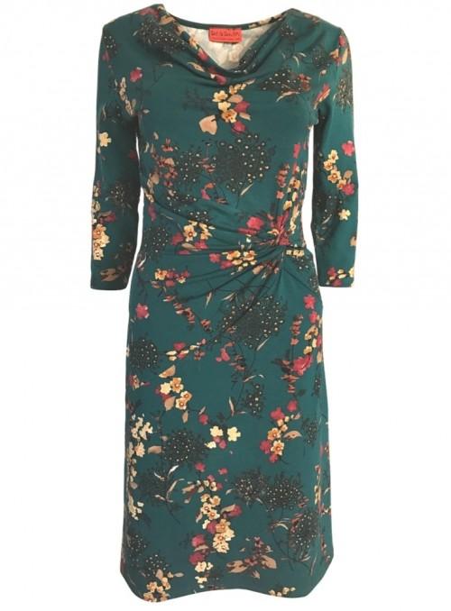 Dot & Doodle's kjole Lady Cherry Green