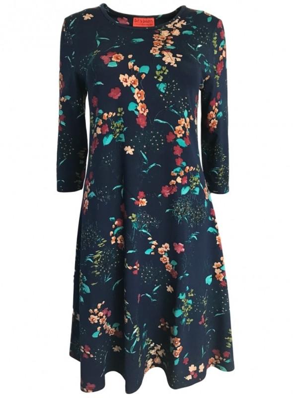 Dot & Doodle's kjole Bazinga Cherry Blue HolidayMode.dk