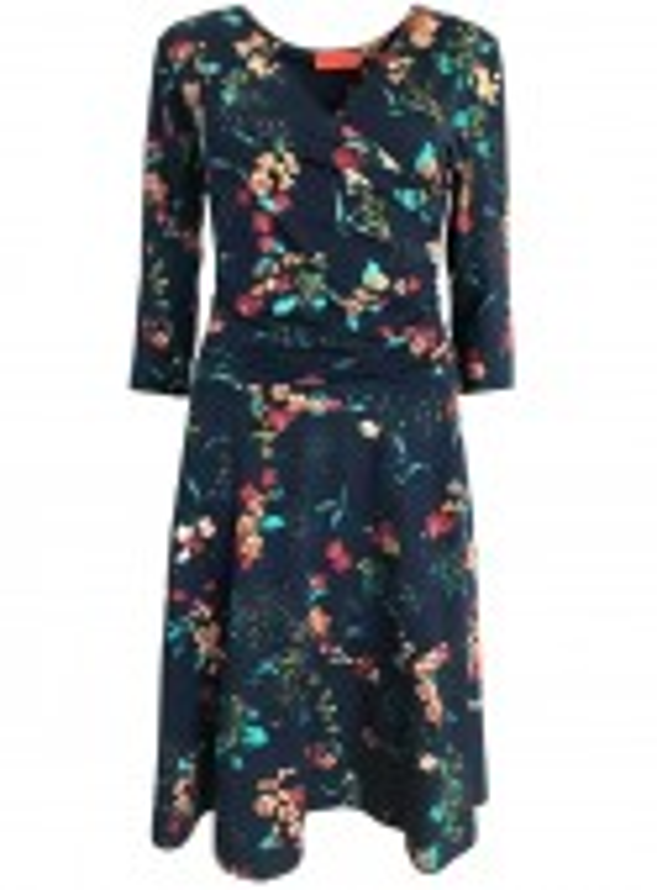 Dot & Doodle's kjole Isabella Cherry Blue