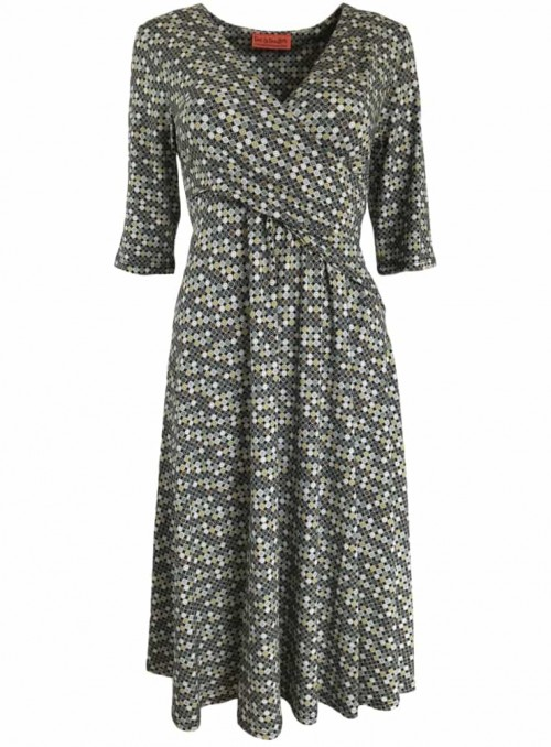 Dot & Doodle's kjole Poppy Ball Green