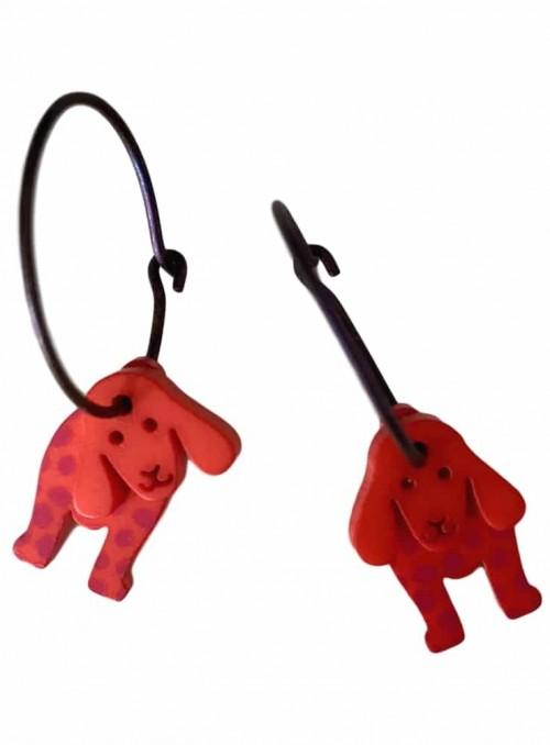 Øreringe røde hunde