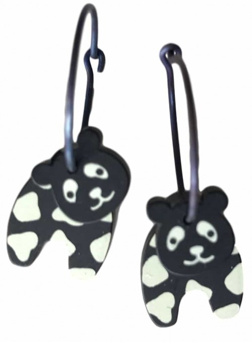 Øreringe panda