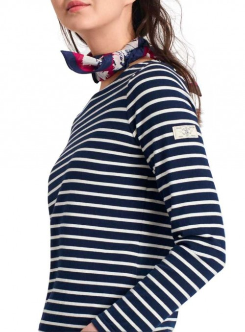 Jersey bluse Harbour fra Joules