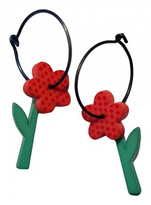 Øreringe blomst