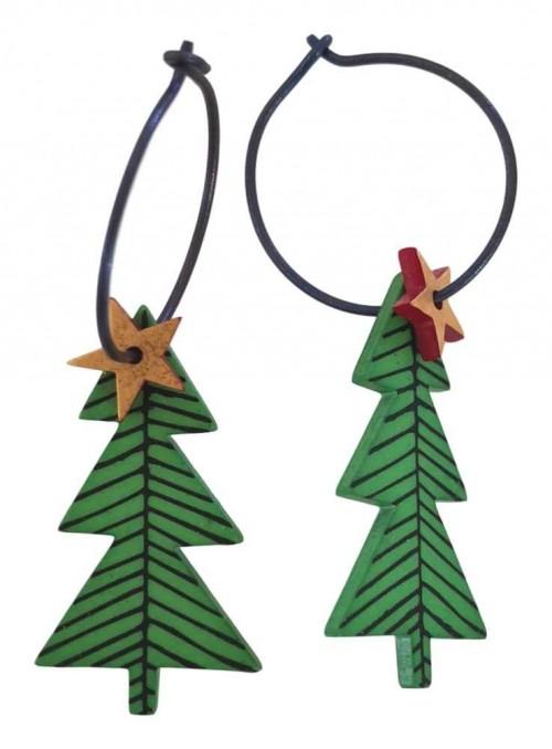 Øreringe juletræ