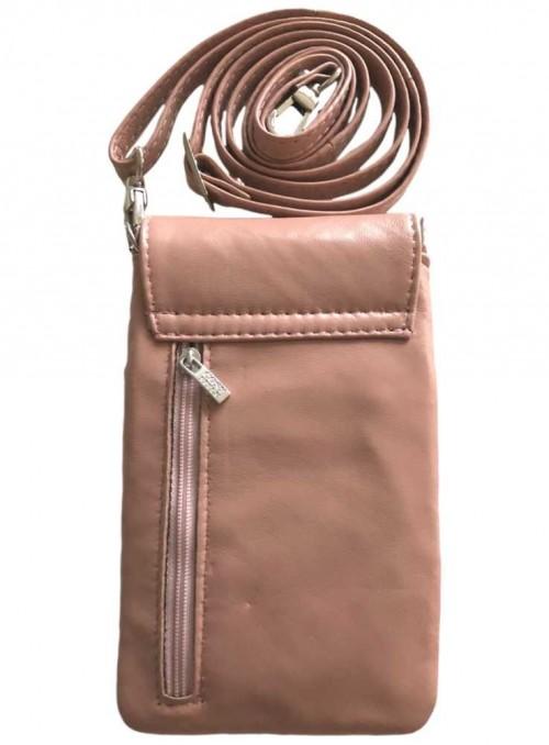 Mobil-taske rosa, lille