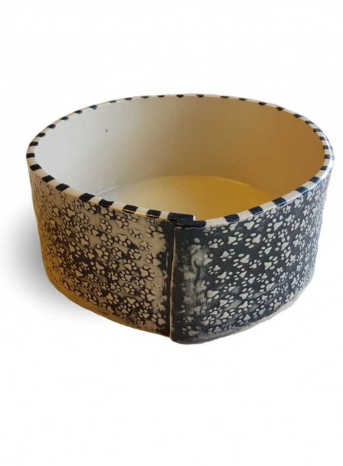 Keramik skål Kitfarvet
