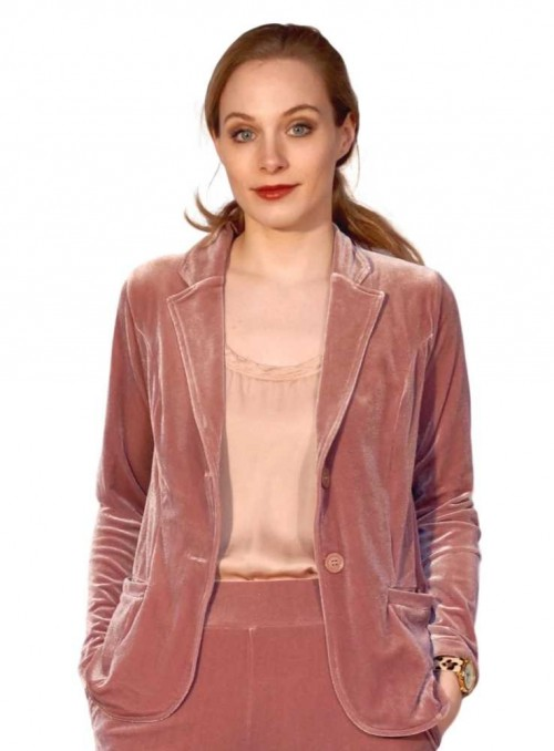 Blazer Louisa Vela Blush