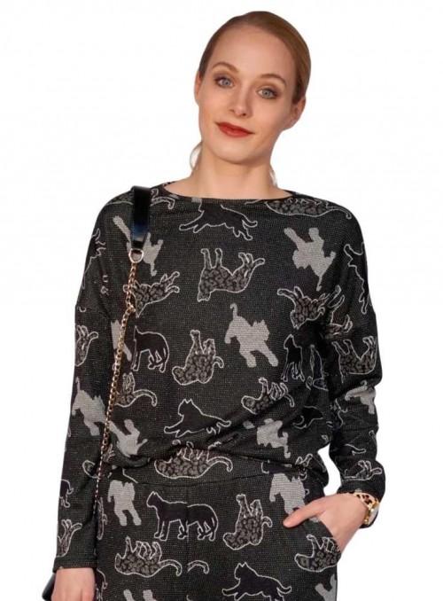 Bluse fra Dot & Doodle's Becky Jaguar