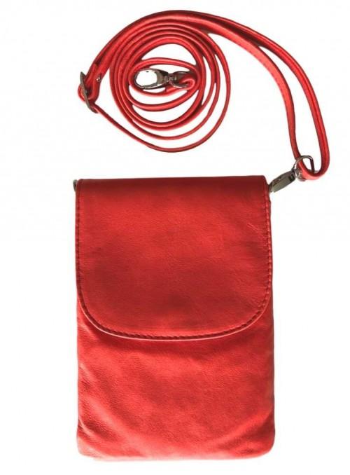 Mobil-taske i koralfarvet, Skagen fra Cosy Style