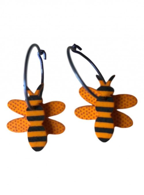 Øreringe med bier