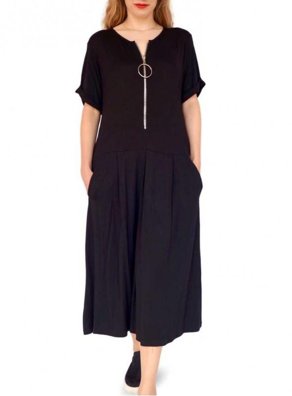 Sort kjole Chili Ella