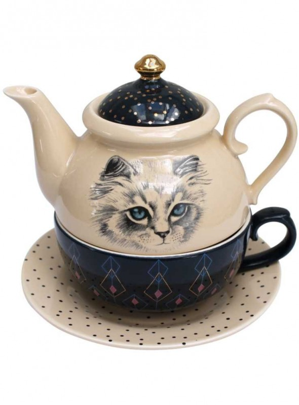 Tepotte, Meow Tea for One