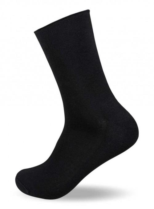 Diabetes sokker fra 50 kr, bambus strømper sort