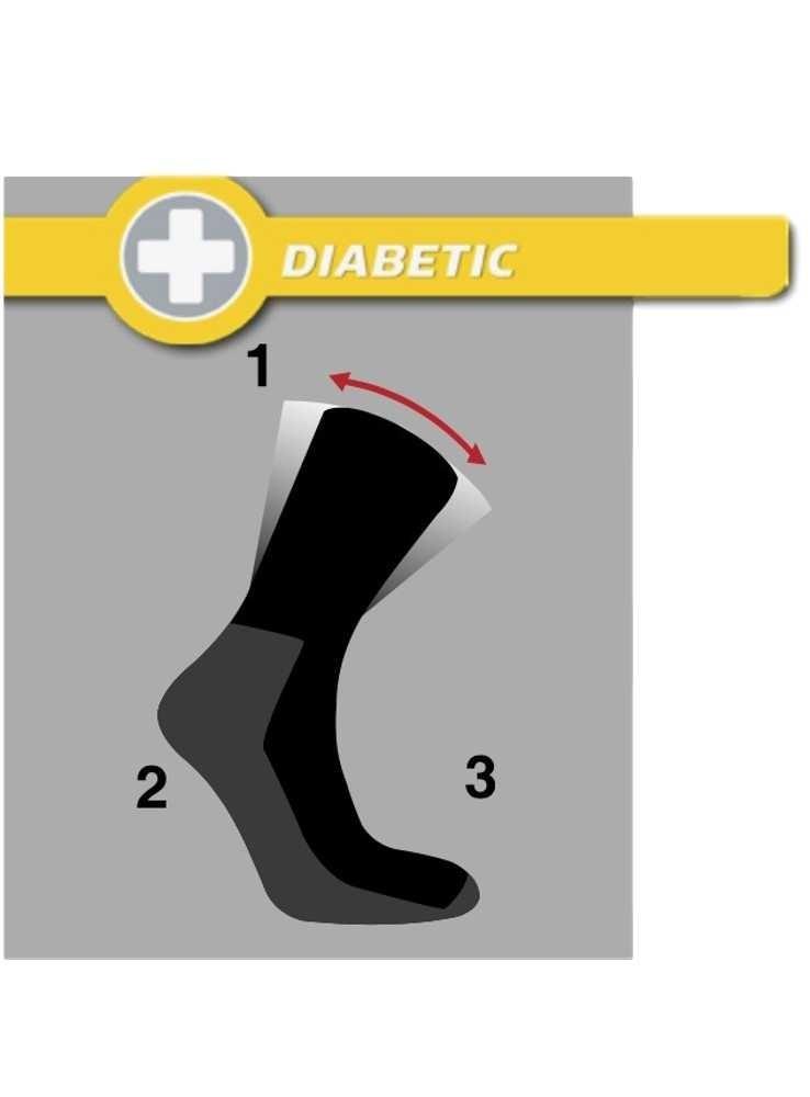 20a0fe1cd72 Diabetes sokker fra 50 kr, bambus strømper sort - Holiday Modesaloner