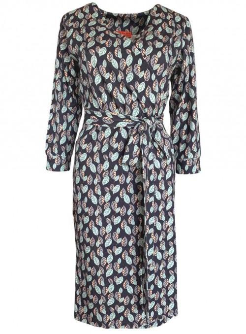 Slå-om-kjole Wendy Waterloo økologisk bomuld fra Dot & Doodle's