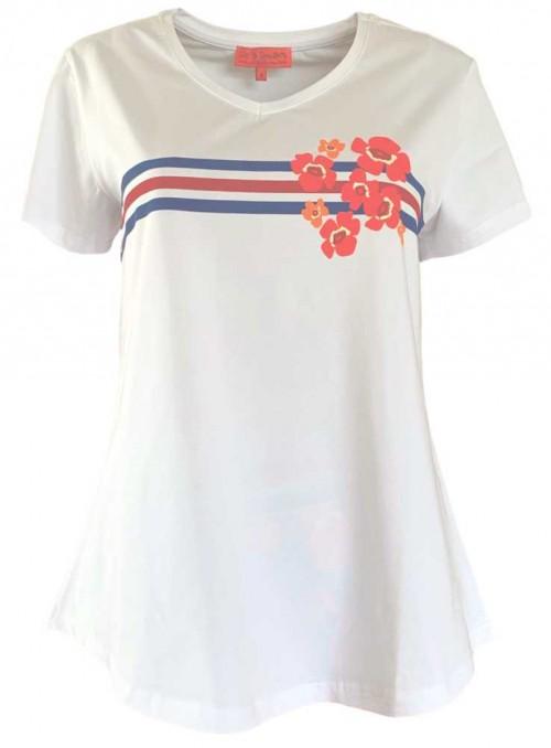 Str. M T-shirt Tilly Chelsea økologisk bomuld fra Dot & Doodle's