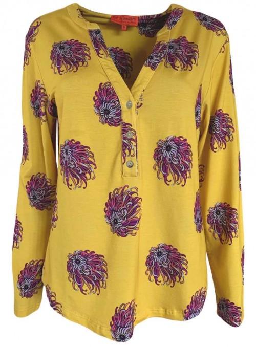Str. M jersey bluse Toffy Jellyfish fra Dot & Doodle's