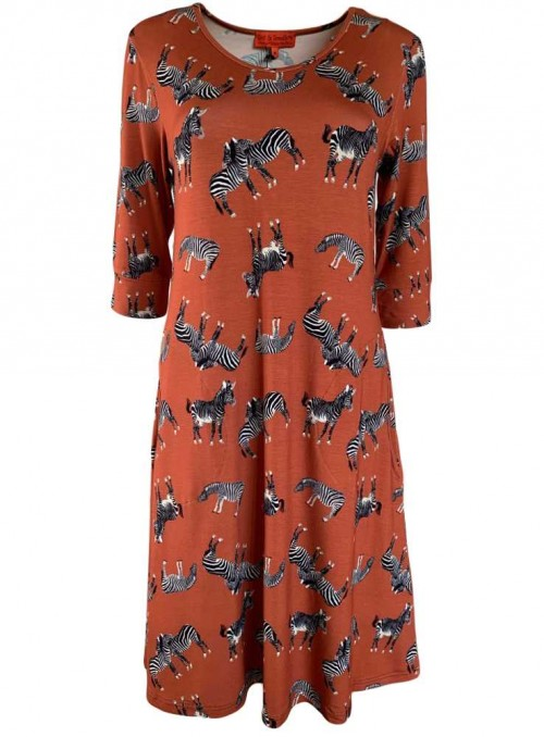 Str. M kjole Lissy Zafari fra Dot & Doodle's