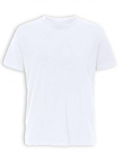 Bambus basis T-shirt herre, hvid