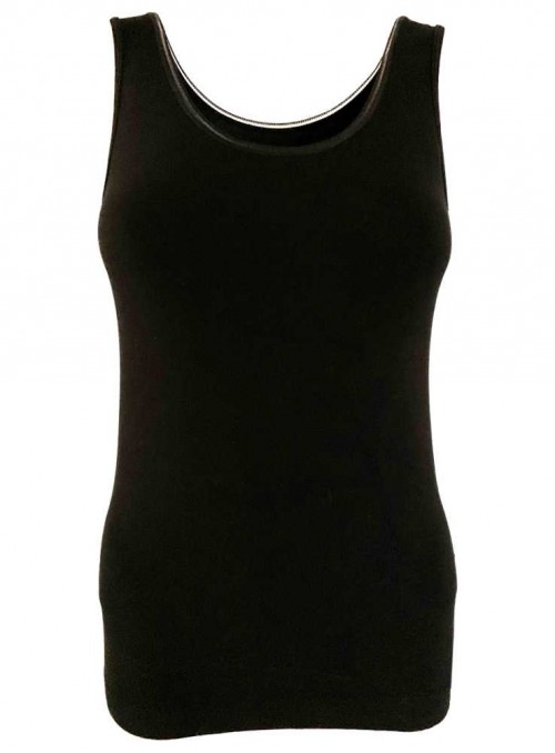 Str. S & XL Bambus top Singlet camisole Seamless Bamboo