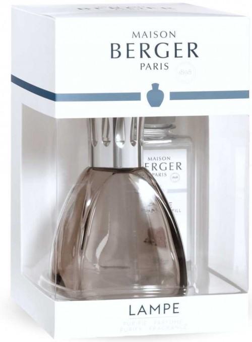 Stratsæt luftrensende lampe Curve Grey duftlamper fra Maison Berger