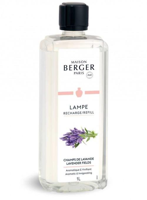 1 L. Refill Lavendel myggeskræmmende og luftrensende olie til Maison Berger luftrenser lampe