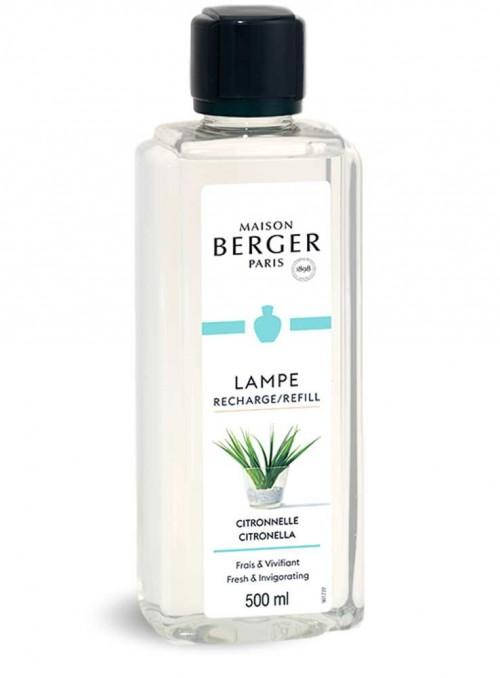500 ml. Refill Citronella myggeskræmmende æterisk olie til Maison Berger luftrenser lampe