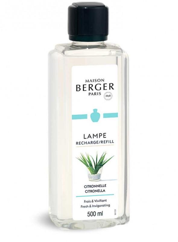 500 ml. Refill Citronella luftrensende olie til Maison Berger luftrenser lampe