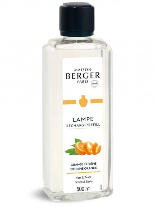 500 ml. Refill Orange æterisk olie til Maison Berger luftrenser lampe