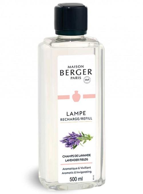 500 ml. Refill Lavendel myggeskræmmende og luftrensende olie til Maison Berger luftrenser lampe