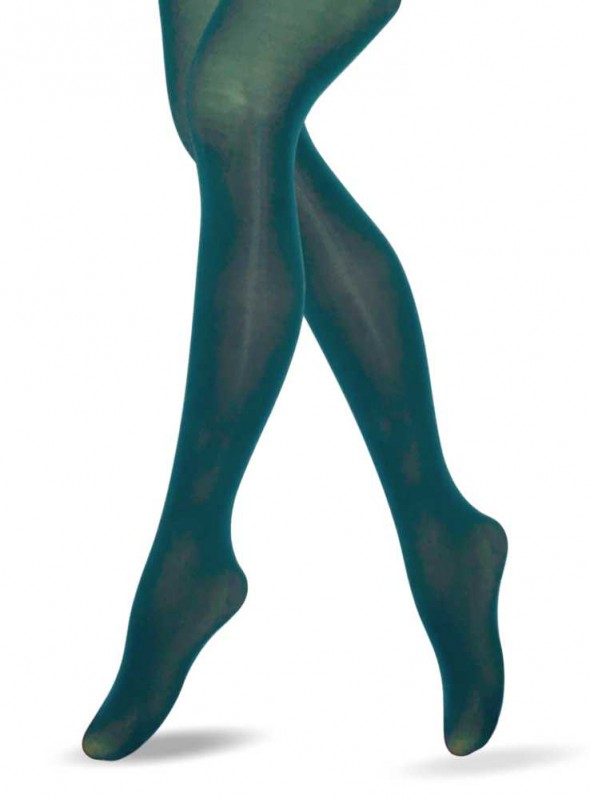 Lucy Legs Green 3D Mikcrofiber Tights