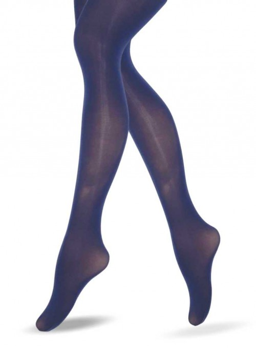 Lucy Legs Blue 3D Mikcrofiber Tights
