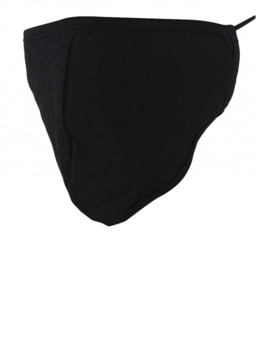 Mundbind, sort mode-maske 3 lag, fra Black Colour