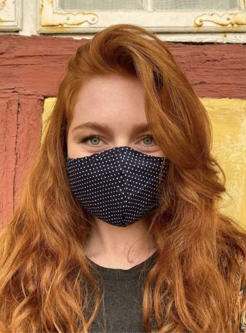 Mundbind, mode-maske 3 lag, fra Black Colour