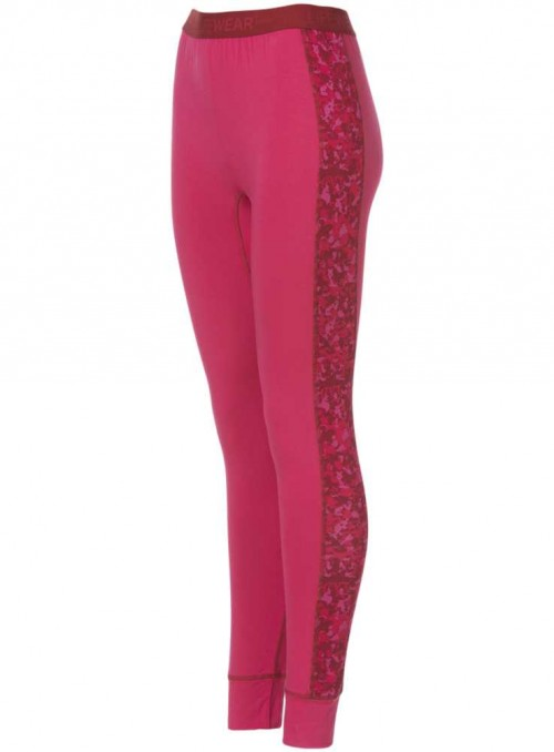 Bambus baselayer leggings, dame skiunderbukser