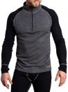Bambus/merino-uld baselayer t-shirt herre, ski-undertrøje