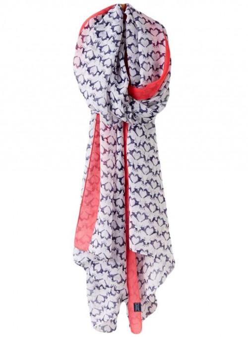 Joules tørklæde Fox Terrier