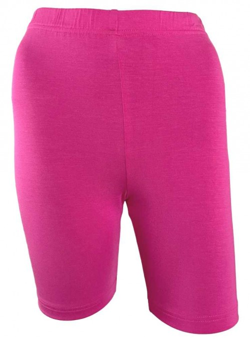 Bambus skånebukser, inder-shorts, cykelshorts pink fra Festival