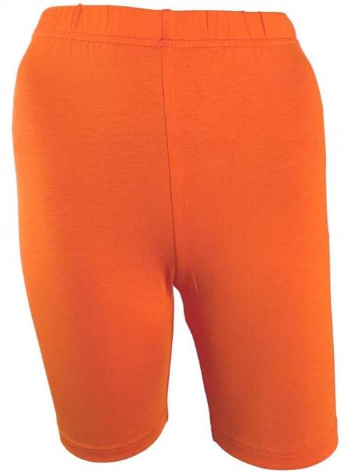 Bambus skånebukser, inder-shorts, cykelshorts orange fra Festival