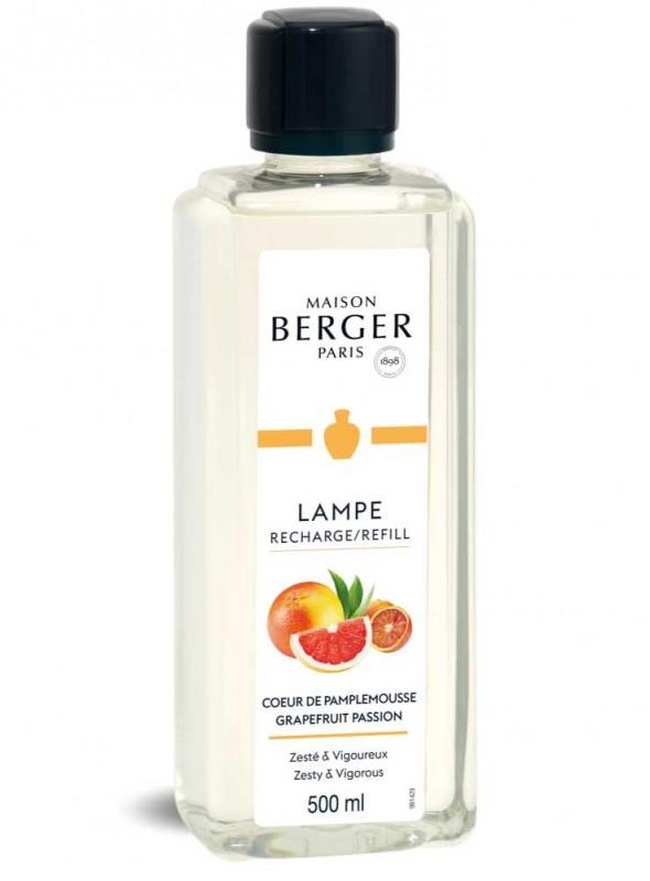 500 ml. Refill Grapefrugt luftrensende olie til Maison Berger luftrenser lampe