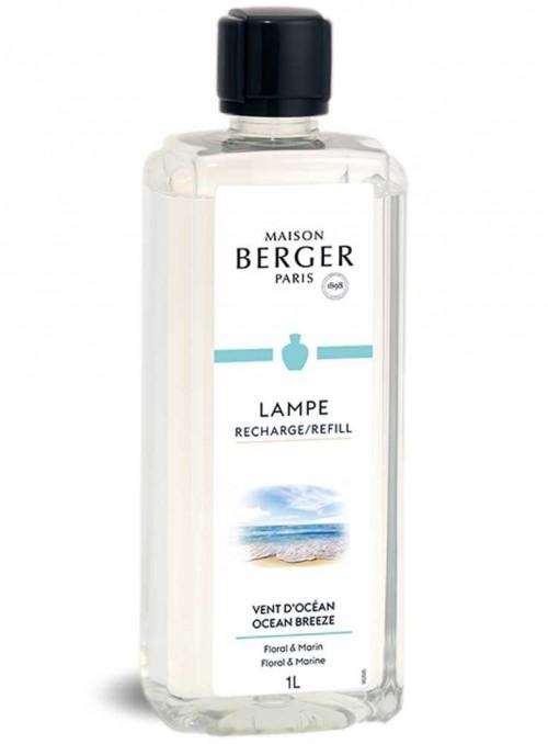 1 L Refill mild duft Ocean Breeze luftrensende olie til Maison Berger luftrenser lampe