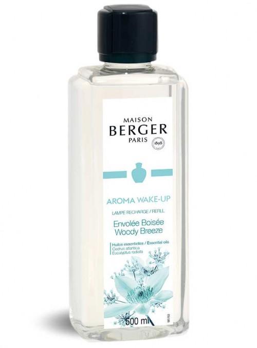 500 ml. Refill Arama terapi WAKE-UP luftrensende olie til Maison Berger luftrenser lampe