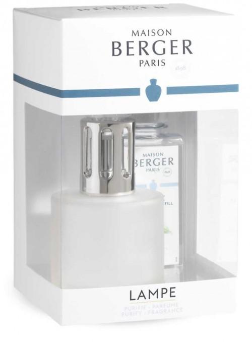 Startsæt luftrensende Maison Berger lampe Pure Frosted duftlampe